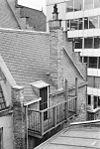 daken vanuit het zuid-westen en zuid-gevel klein drakenburg. - utrecht - 20236538 - rce