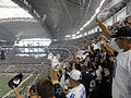 Dallas Cowboys stadium - fans.JPG