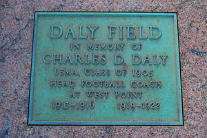 Charles Dudley Daly - Daly field marker at West Point