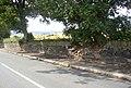 Damaged wall, Freakfield Lane, Hartshead - geograph.org.uk - 221916.jpg