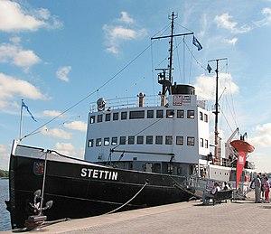 SS Stettin (1933) - Stettin in Rostock harbour