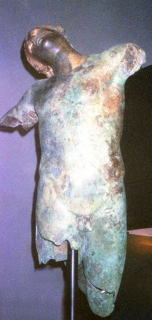 Dancing Satyr of Mazara del Vallo - The Dancing Satyr