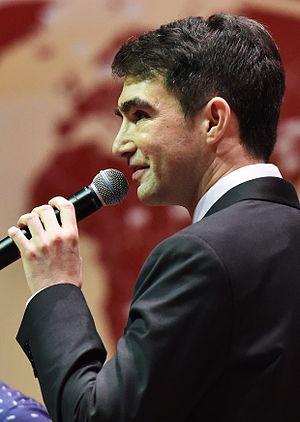 Daniel Berdichevsky - Daniel Berdichevsky at the 2015 World Scholar's Cup Global Round in Kuala Lumpur