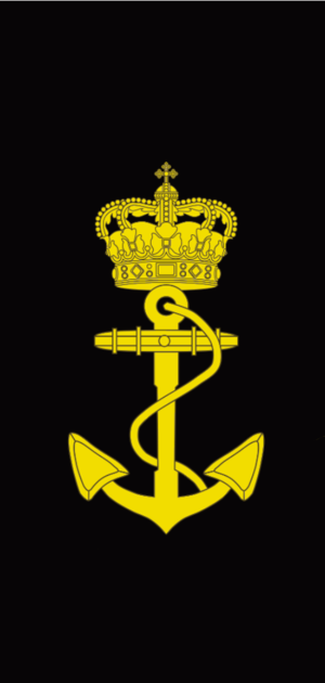 Ranks and insignia of Royal Danish Navy - Image: Danish Marineelev rank