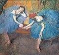 Danseuses en bleu d'Edgar Degas (Musée d'Orsay, Paris) (25462665957).jpg