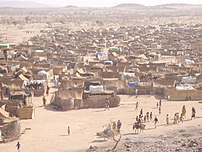 Darfur refugee camp in Chad
