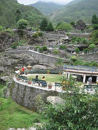 Rock Garden, Darjeeling - The terraced garden
