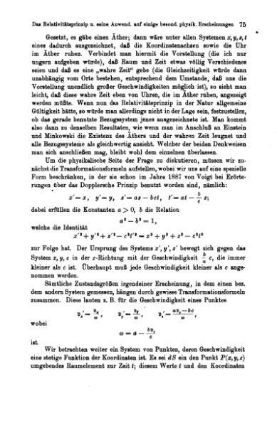 File:Das Relativitätsprinzip und seine Anwendung.djvu