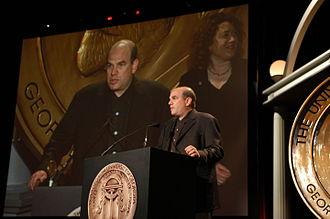 The Wire - David Simon accepting the Peabody Award for The Wire at the 63rd Annual Peabody Awards.