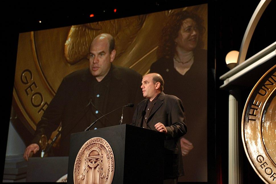 David Simon at the 63rd Annual Peabody Awards