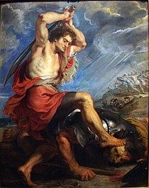 David Slaying Goliath by Peter Paul Rubens.jpg