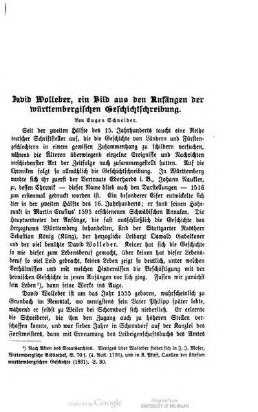 File:David Wolleber - ein Bild aus den Anfängen der württembergischen Geschichtschreibung.djvu