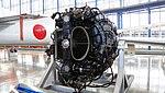 De Havilland Goblin 35 turbojet engine left front view at Hamamatsu Air Base Publication Center November 24, 2014.jpg
