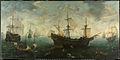 De Spaanse Armada voor de Engelse kust.JPG