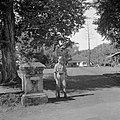De ingang van het huis van ir Soekarno in Batavia, Bestanddeelnr 255-8184.jpg