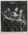 Decapitation of Saint John the Baptist. Engraving by S.A. Bo Wellcome V0033499.jpg