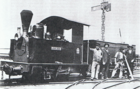 Decauville locomotive 'John Benn' of the Metropolitan Gas Company in Melbourne built in 1886.png