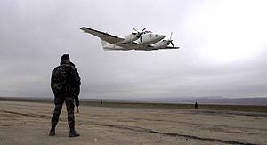 Fall of Mazar-i-Sharif - Image: December 2001 Mazar Airfield
