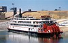 The Delta Queen in Memphis, Tennessee