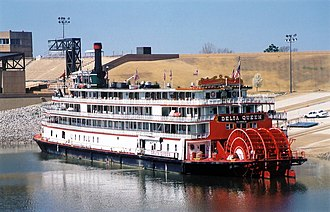 Delta Queen - The Delta Queen in Memphis, Tennessee in May 2003