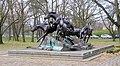 Denkmal Clayallee ggü 148 (Dahle) Am Tag als die Mauer fiel.jpg