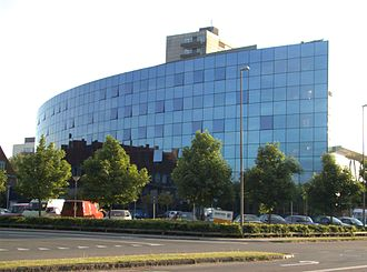 Odense University Hospital - Odense University Hospital's patient hotel, opened in 1997