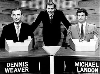Match Game - Gene Rayburn (center) hosting a prime-time Match Game special episode, 1964