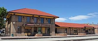 National Register of Historic Places listings in Alamosa County, Colorado - Image: Denver and Rio Grande Railroad Depot (Alamosa, Colorado)