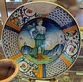 Deruta, piatto con suicidio di lucrezia, 1550 ca..JPG