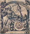 Design for a Stained Glass Window for Christoph von Eberstein, by Hans Holbein the Younger.jpg