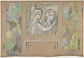 Design for an Overdoor Painting and Two Wall Panels MET DP830905.jpg