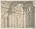 Design of a Perspective for a Stage Set with Courtyard and Triumphal Arch. MET DP807889.jpg