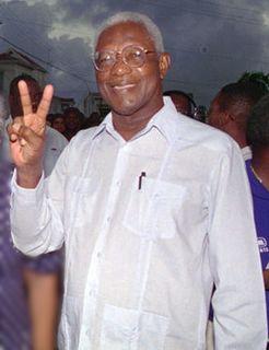 Desmond Hoyte President of Guyana, politician, lawyer