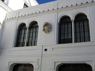 Duke of Medina Sidonia - The facade of the palace of the Duke of Medina-Sidonia