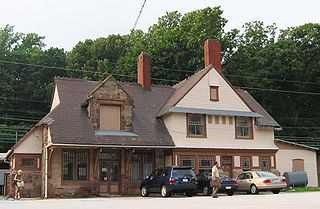 Devon station rail station in Devon, Pennsylvania, United States of America