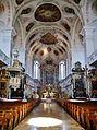 Dillingen Basilika St. Peter Innen Langhaus Ost 4.jpg