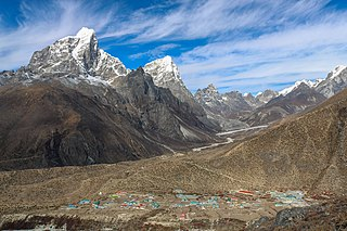 Dingboche Place in Province No. 1, Nepal