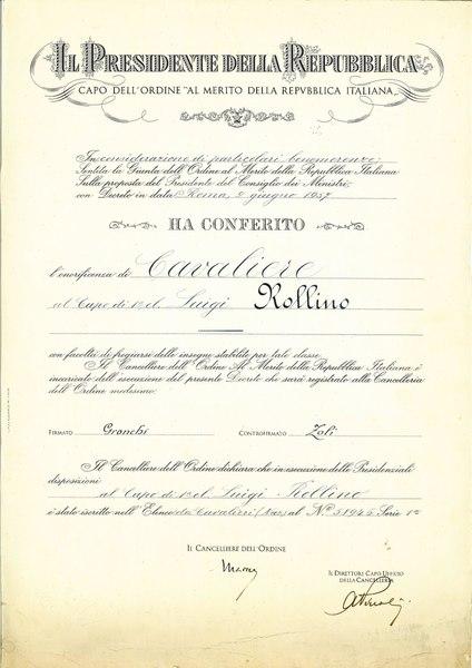 File:Diploma di Cavaliere della Repubblica.pdf