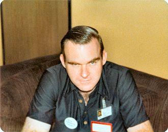 Dirk W. Mosig - Mosig at 1978 IguanaCon II, photo by Will Hart