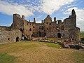 Dirleton Castle courtyard - geograph.org.uk - 1357526.jpg