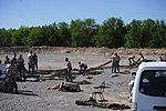 Dirty Details, Airmen demilitarize camouflage netting 140509-F-KA381-005.jpg