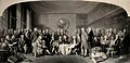 Distinguished British men of science 1807-1808 assembled in Wellcome V0050587.jpg