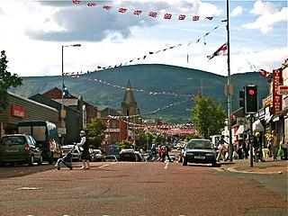 Shankill Road Main road leading through west Belfast, Northern Ireland