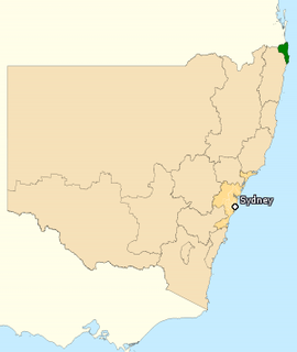 Division of Richmond Australian federal electoral division