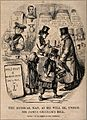 Doctors reduced to drinking in a seedy public house; satiriz Wellcome V0011595.jpg
