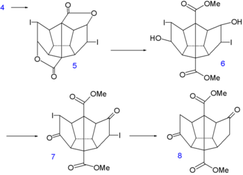 Dodecahedrane synthesis part I
