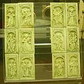Dodici formelle con angeli musicanti e santi, xv sec..JPG