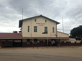 Dodoma - Image: Dodoma Train Station