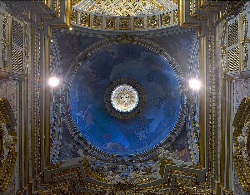 Dome of Santissima Trinità degli Spagnoli (Rome).jpg