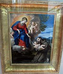 La Vierge à l'Enfant avec saint François